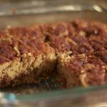 Pumpkin Cinnamon Swirl Protein Bars